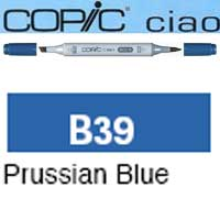 ROTULADOR <b>COPIC CIAO 'B39' PRUSSIAN BLUE</b>