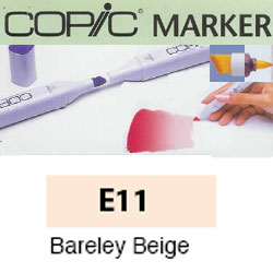 ROTULADOR <b>COPIC MARKER 'E11' BARELY BEIGE</b>
