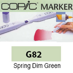 ROTULADOR <b>COPIC MARKER 'G82' SPRING DIM GREEN</b>